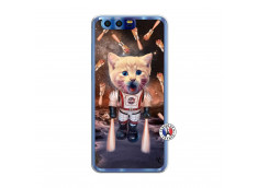 Coque Huawei Honor 9 Cat Nasa Translu