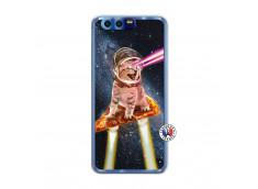 Coque Huawei Honor 9 Cat Pizza Translu