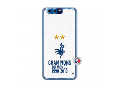 Coque Huawei Honor 9 Champion Du Monde Translu