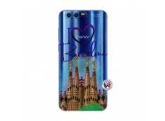 Coque Huawei Honor 9 I Love Barcelona