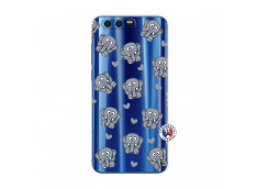 Coque Huawei Honor 9 Petits Elephants