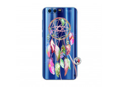 Coque Huawei Honor 9 Pink Painted Dreamcatcher