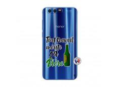 Coque Huawei Honor 9 Tout Travail Merite Sa Biere