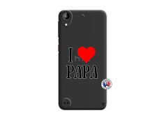 Coque HTC Desire 530 I Love Papa