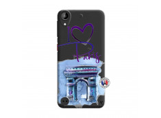 Coque HTC Desire 530 I Love Paris, i love Arc de Triomphe