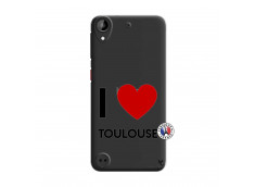 Coque HTC Desire 530 I Love Toulouse