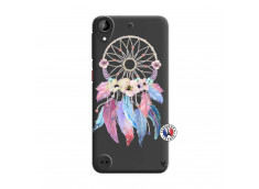 Coque HTC Desire 530 Multicolor Watercolor Floral Dreamcatcher