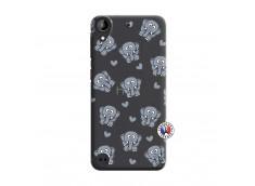 Coque HTC Desire 530 Petits Elephants