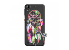 Coque HTC Desire 530 Pink Painted Dreamcatcher