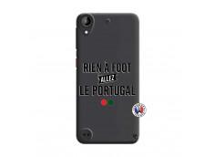 Coque HTC Desire 530 Rien A Foot Allez Le Portugal