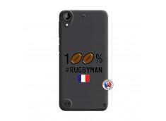 Coque HTC Desire 530 100% Rugbyman