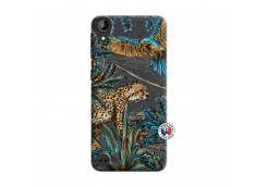 Coque HTC Desire 530 Leopard Jungle
