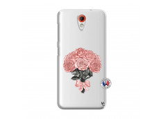 Coque HTC Desire 620 Bouquet de Roses