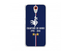 Coque Htc Desire 620 Champions Du Monde 1998 2018 Transparente