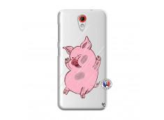 Coque HTC Desire 620 Pig Impact
