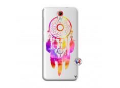 Coque HTC Desire 620 Dreamcatcher Rainbow Feathers