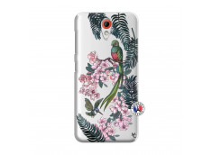 Coque HTC Desire 620 Flower Birds