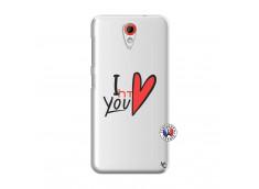 Coque HTC Desire 620 I Love You