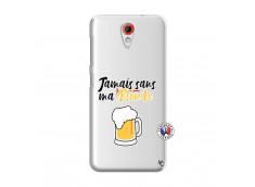 Coque HTC Desire 620 Jamais Sans Ma Blonde