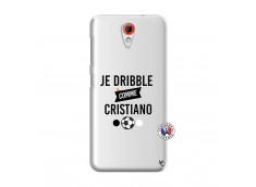 Coque HTC Desire 620 Je Dribble Comme Cristiano
