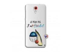 Coque HTC Desire 620 Je peux pas j'ai cricket