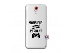 Coque HTC Desire 620 Monsieur Mauvais Perdant