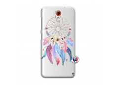 Coque HTC Desire 620 Multicolor Watercolor Floral Dreamcatcher