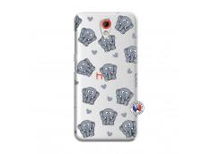 Coque HTC Desire 620 Petits Elephants