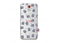 Coque HTC Desire 620 Petits Hippos