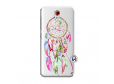 Coque HTC Desire 620 Pink Painted Dreamcatcher