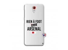 Coque HTC Desire 620 Rien A Foot Allez Arsenal