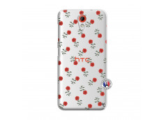Coque HTC Desire 620 Rose Pattern