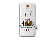 Coque HTC Desire 620 100 % Rugbyman Entre les Poteaux