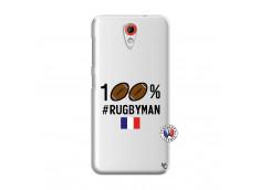 Coque HTC Desire 620 100% Rugbyman