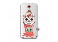 Coque HTC Desire 620 Catpucino Ice Cream