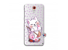 Coque HTC Desire 620 Smoothie Cat