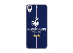 Coque Htc Desire 628 Champions Du Monde 1998 2018 Transparente