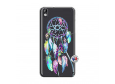 Coque HTC Desire 816 Blue Painted Dreamcatcher