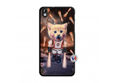 Coque HTC Desire 816 Cat Nasa Translu