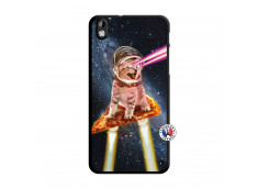 Coque HTC Desire 816 Cat Pizza Translu