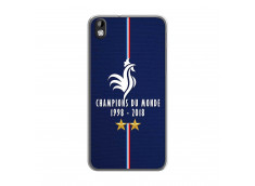 Coque Htc Desire 816 Champions Du Monde 1998 2018 Transparente