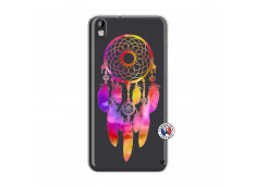 Coque HTC Desire 816 Dreamcatcher Rainbow Feathers