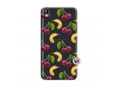 Coque HTC Desire 816 Hey Cherry, j'ai la Banane