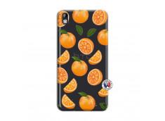 Coque HTC Desire 816 Orange Gina