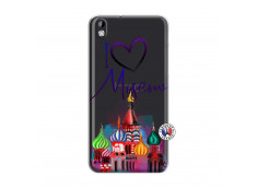 Coque HTC Desire 816 I Love Moscow