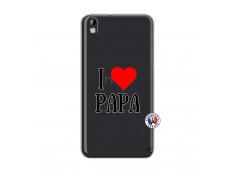 Coque HTC Desire 816 I Love Papa