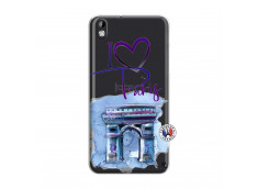 Coque HTC Desire 816 I Love Paris, i love Arc de Triomphe