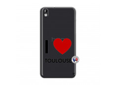 Coque HTC Desire 816 I Love Toulouse
