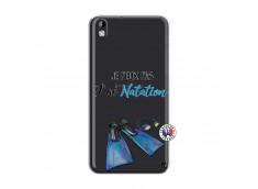 Coque HTC Desire 816 Je Peux Pas J Ai Natation