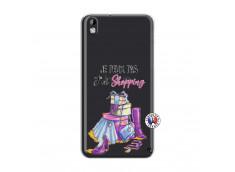 Coque HTC Desire 816 Je Peux Pas J Ai Shopping